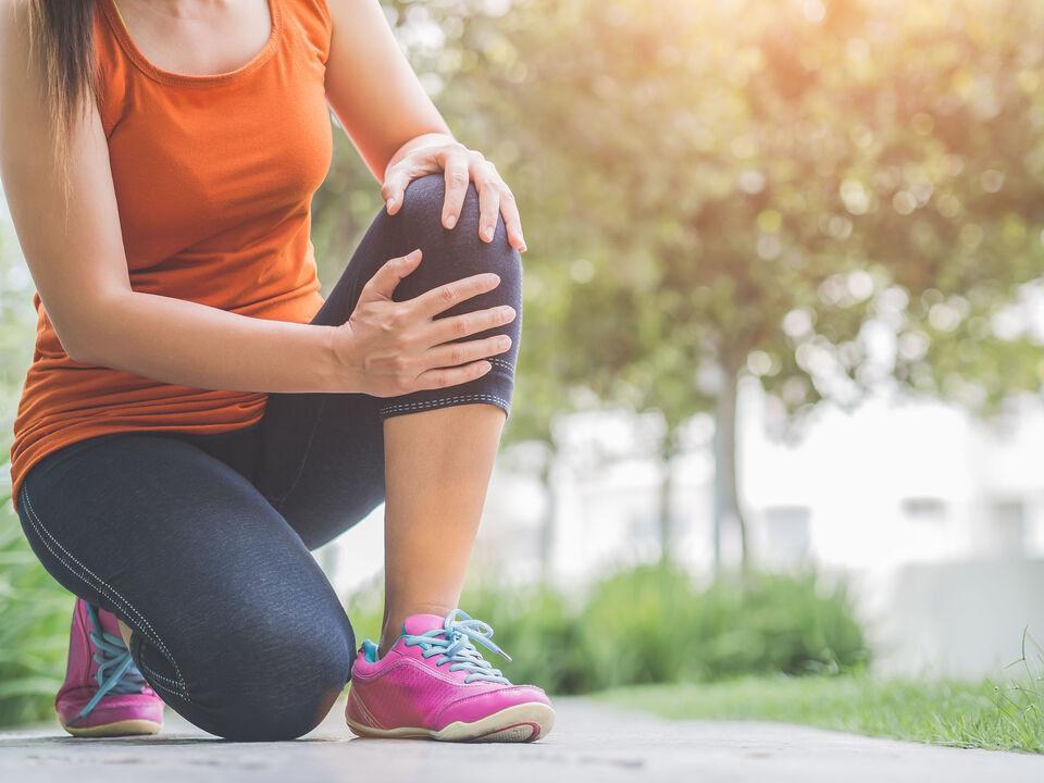 跑步膝蓋痛